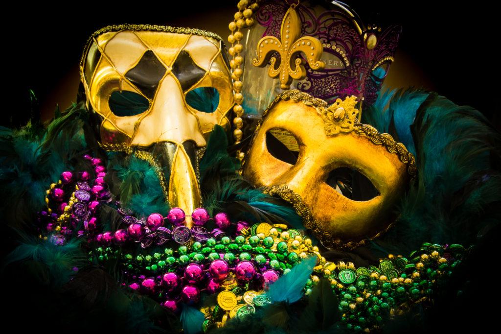 Masks of Mardi Gras