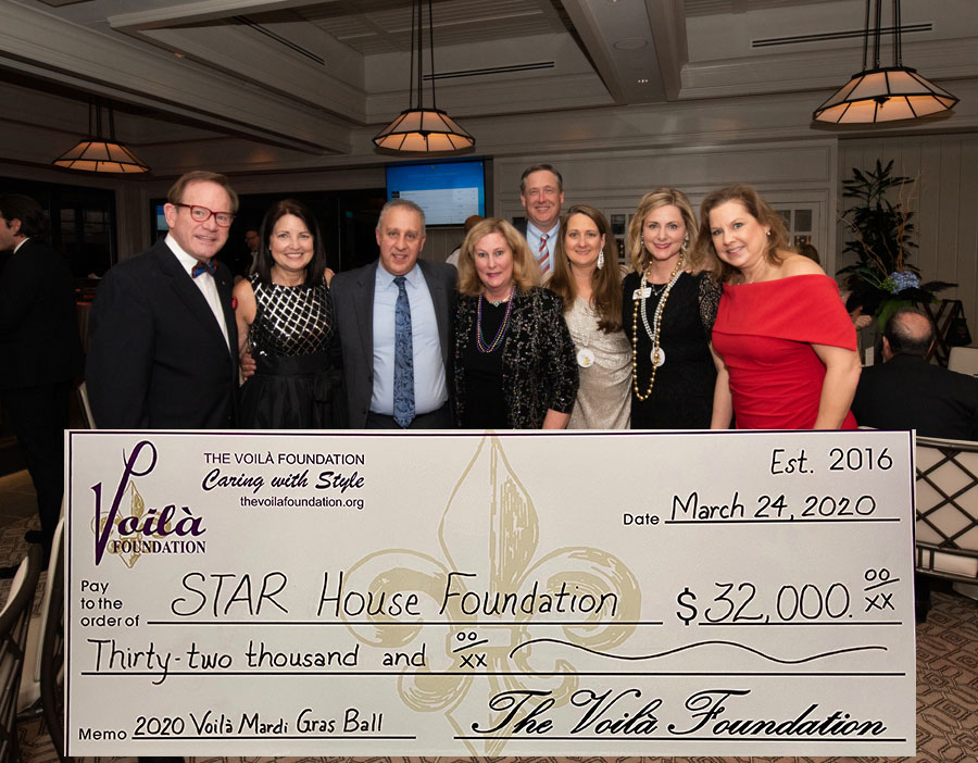 The Voilà Foundation Awards STAR House Foundation